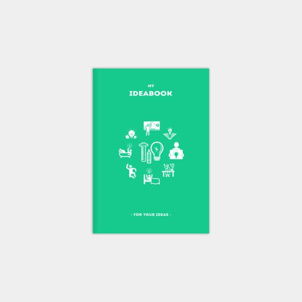 "Блокнот ""IdeaBook"", Emerald (А5)"