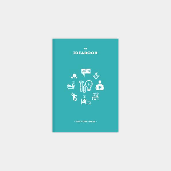 """Блокнот """"IdeaBook"""", Aqua (А6)"""