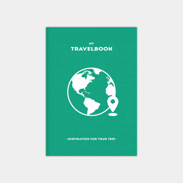 "Скетчбук ""TravelBook"", Mint (А5)"