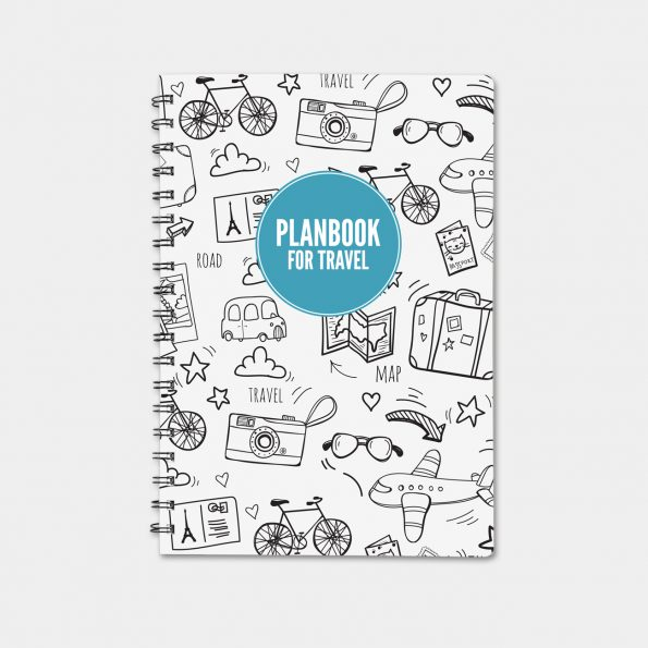 "Планнер ""PlanBook For Travel"""
