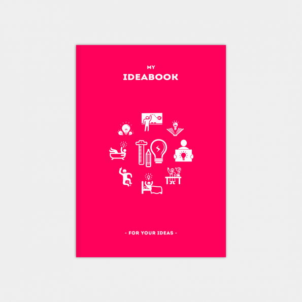 "Скетчбук ""IdeaBook"", Crimson (А5)"