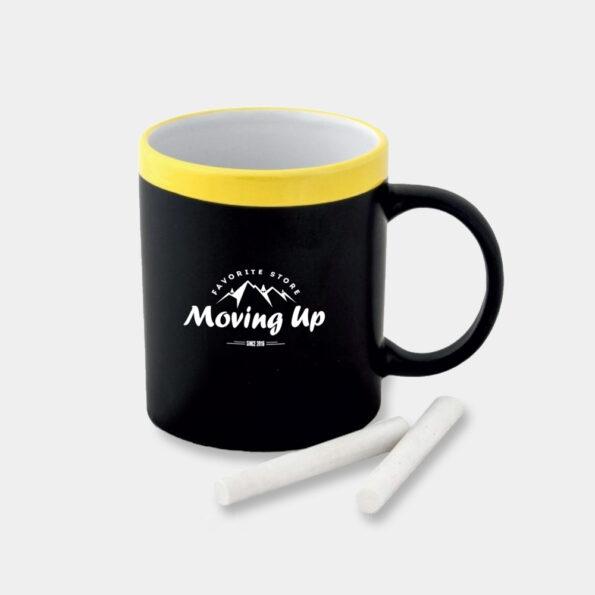 "Чашка з крейдою ""Moving Up"", Yellow"