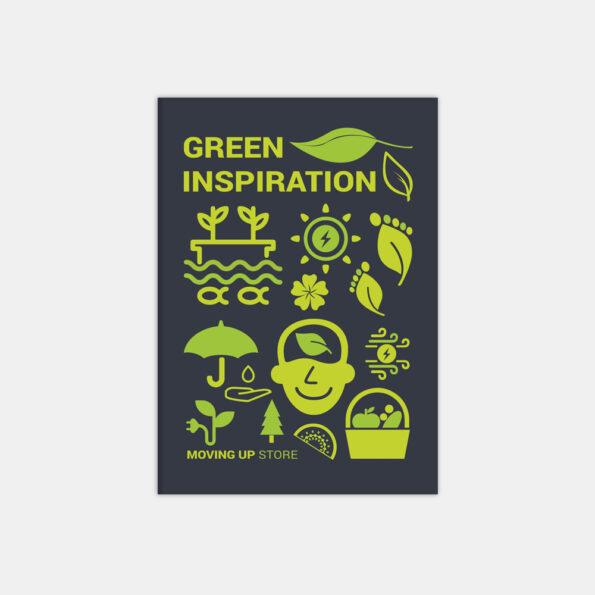 "Скетчбук ""Green Inspiration"""